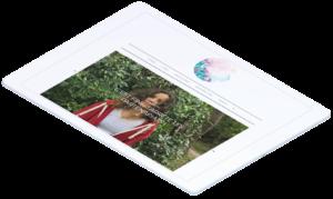Site web de Carla Audoyer réalisé par la Quincaillerie