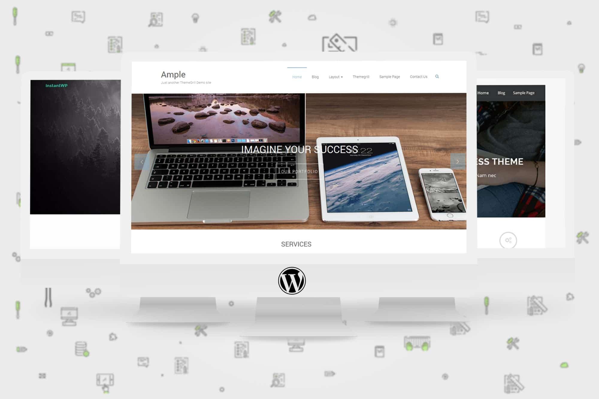 10 themes gratuits pour votre site vitrine Wordpress
